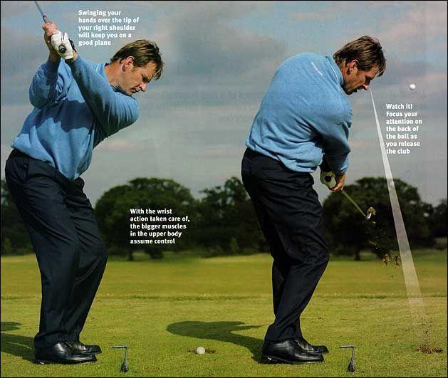How to plug in a repeating swing - Nick Faldo   Golf Stuff