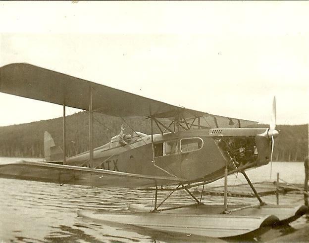 Un Curtiss, premier hydravion au Québec.