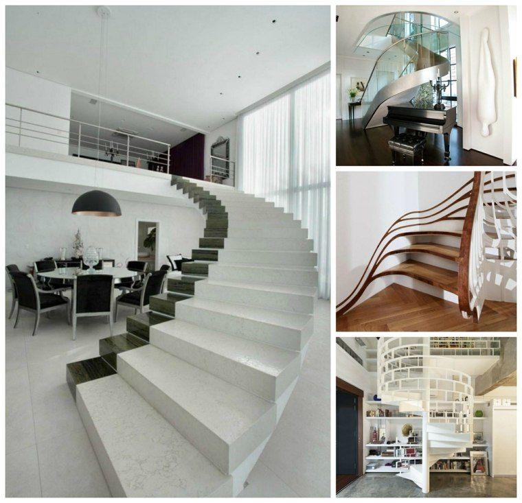 Escalier Design Pour Une Déco D'Intérieur Moderne E En 75 Idées