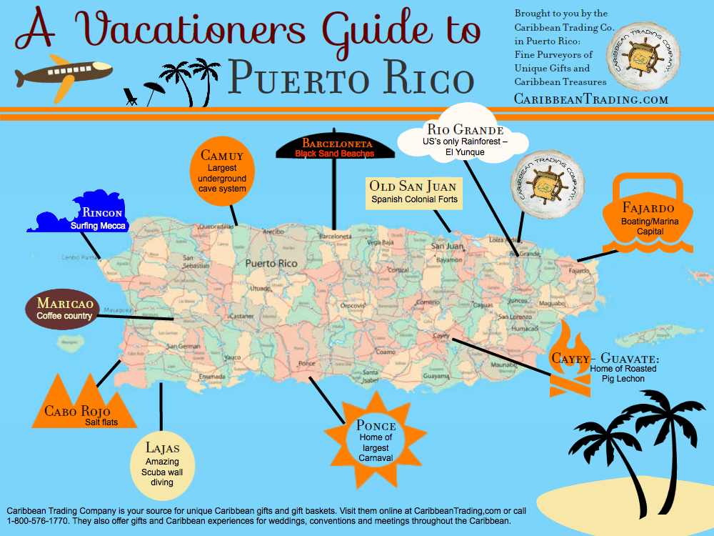 A Sightseer's Guide to Puerto Rico http://caribbeantrading.com/a-sightseers-guide-to-puerto-rico/