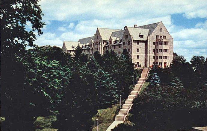 Minnesota Postcard Thorson Hall St Olaf College Northfield Minnesota 1950 S St Olaf College Northfield Minnesota St Olaf