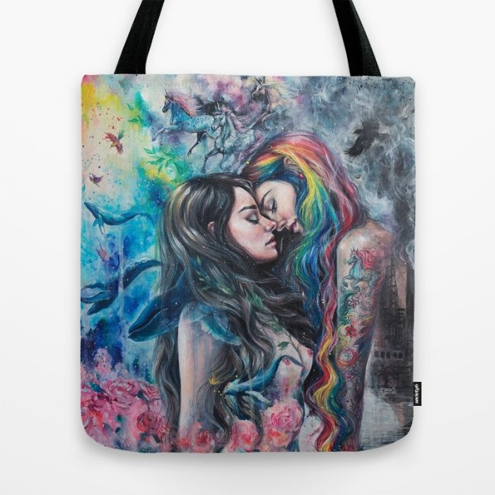 Colorful Me Tote Bag