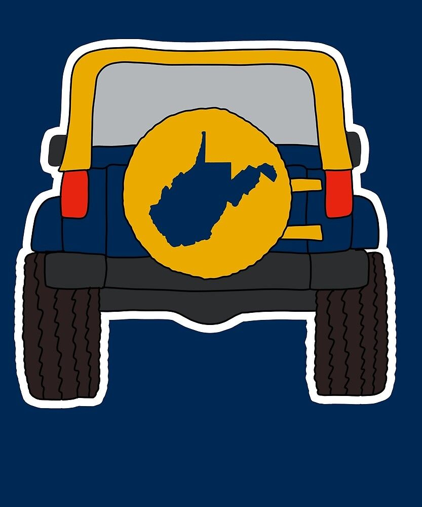 West Virginia Jeep State Map Shirts Stickers Gifts By Rbaaronmattie Redbubble Map Shirts Gift Stickers West Virginia [ 1000 x 833 Pixel ]