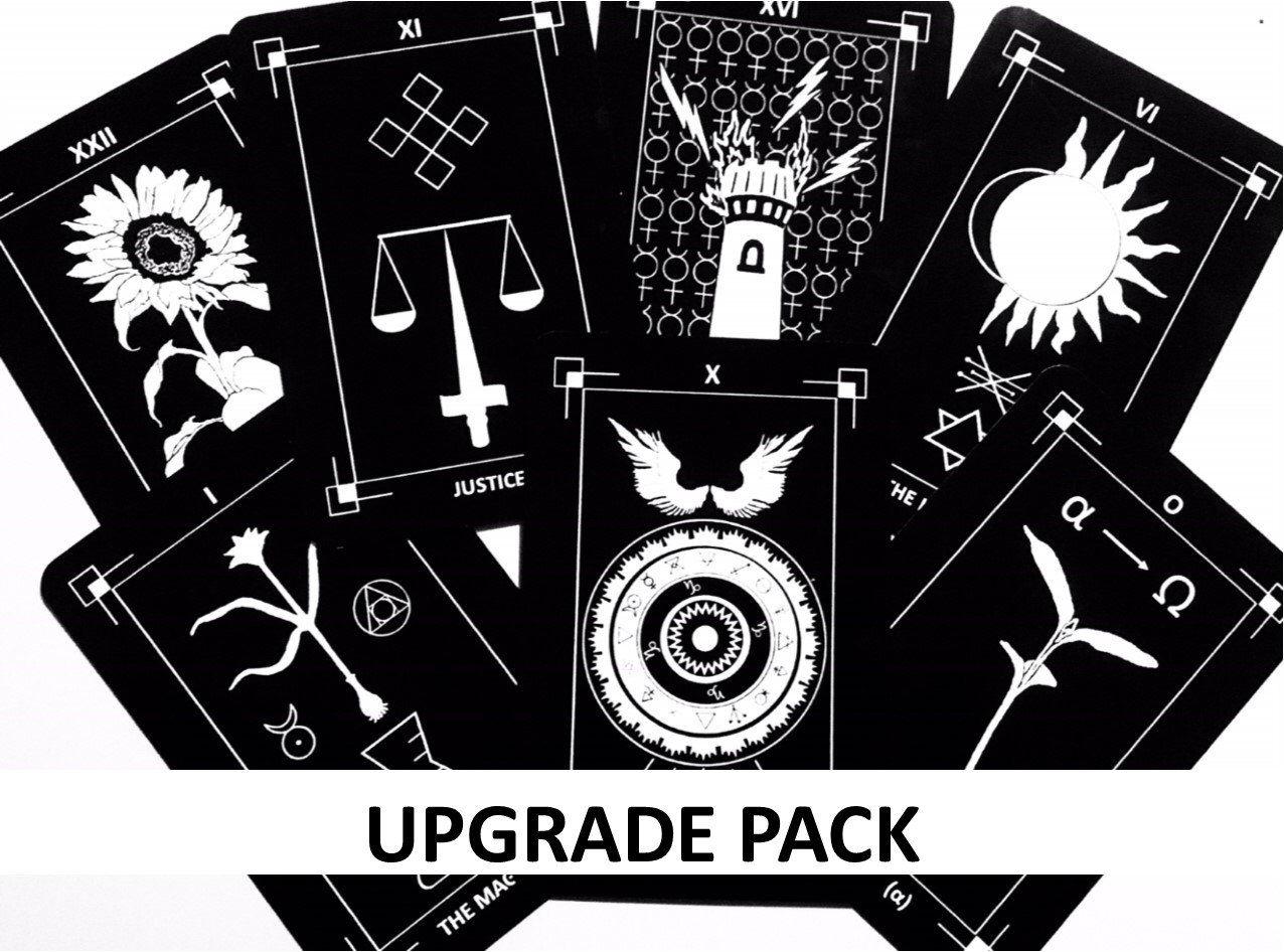 Tarot  sc 1 st  Pinterest & Upgrade Card Pack for 1st Edition Dark Exact Tarot Deck | Tarot