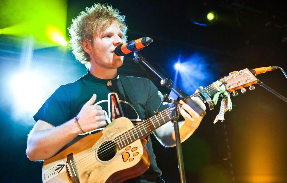 My prince ed sheeran concert music ed