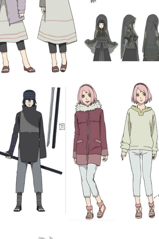 Character Design Naruto The Last : Sakura haruno the last design google search naruto