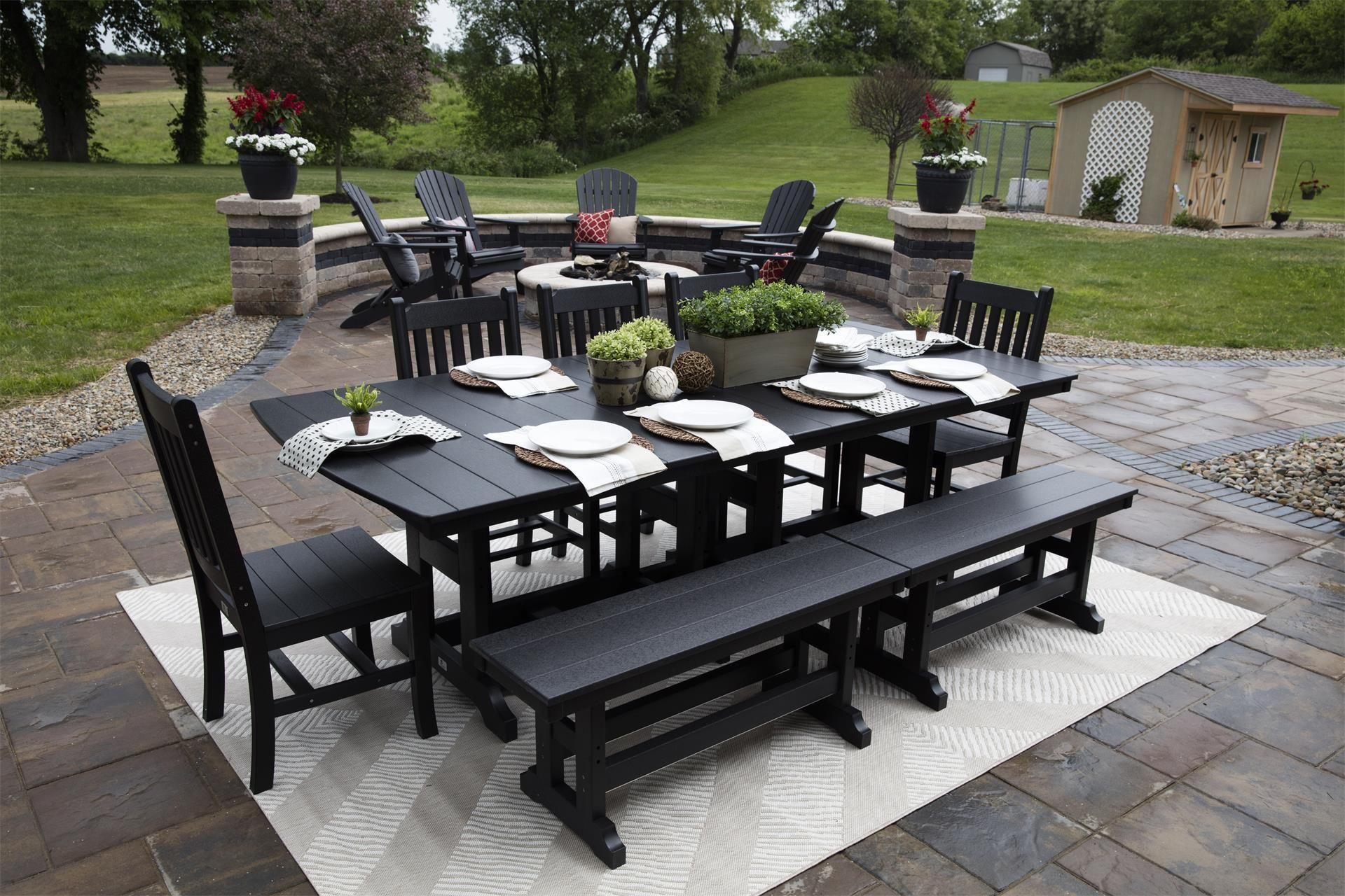 Pin By Dutchcrafters Amish Furniture On Poly Outdoor Furniture