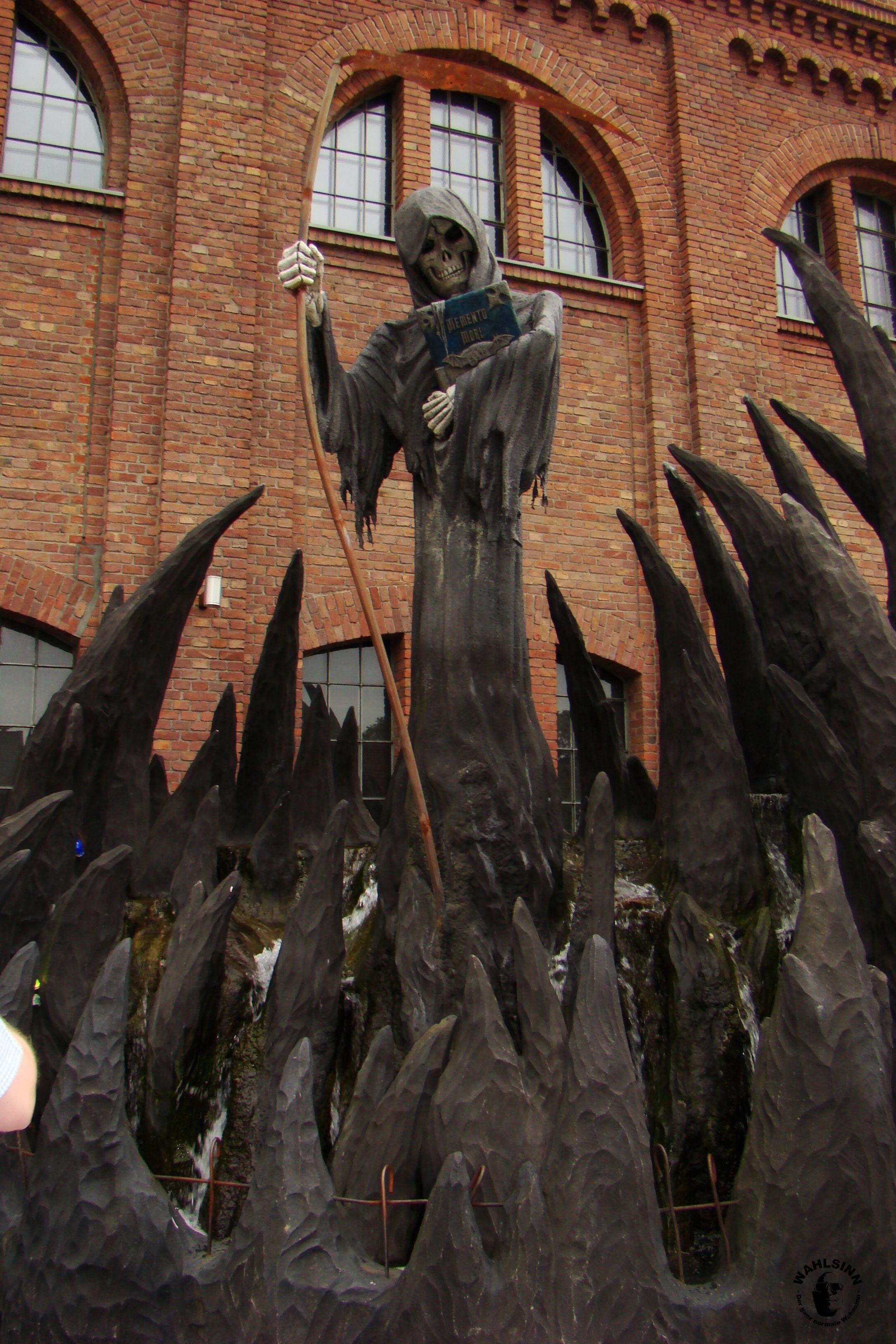 Grusellabyrinth - Der Tod wartet am Ein-/Ausgang auf dich