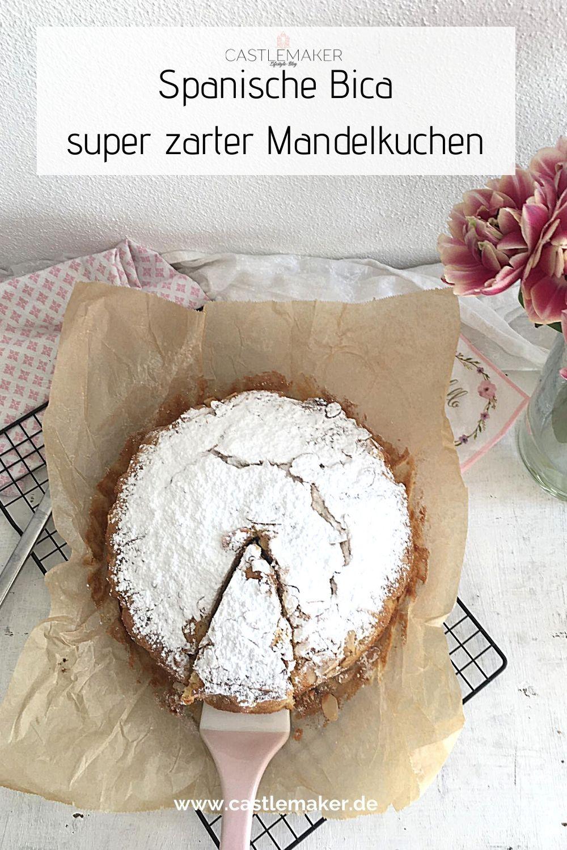 Spanischer Mandelkuchen (Bica) – Der perfekte super einfache Sommerkuchen