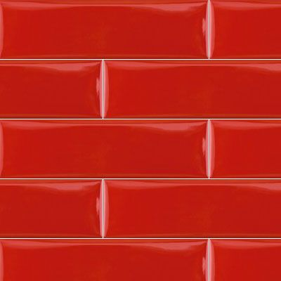 Red Subway Tiles The Perfect Feature Wall