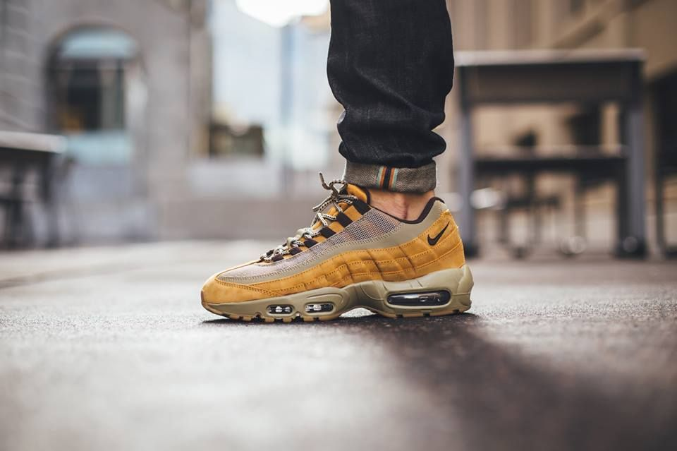 Nike Air Max 95 PRM Wheat | SHOE GAME GOALS | Nike air max