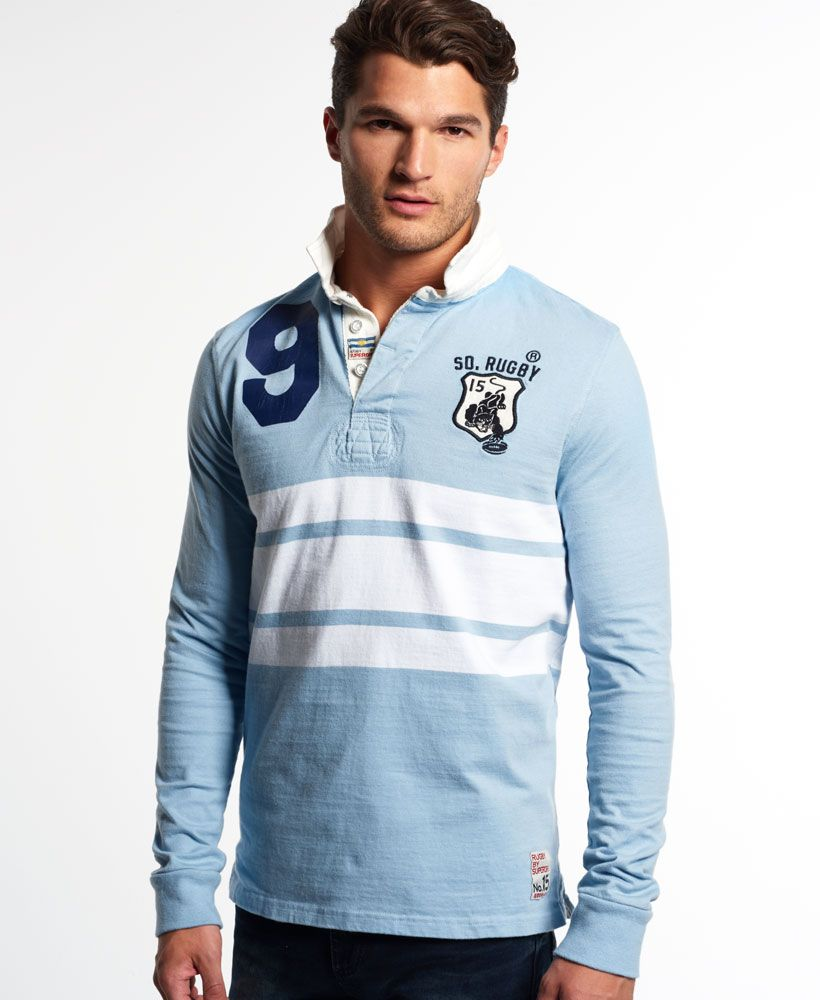 Superdry World Legends Rugby Shirt Mens Superdry Rugby My