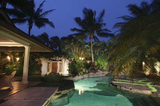 오바마 가족의 하와이 휴양지