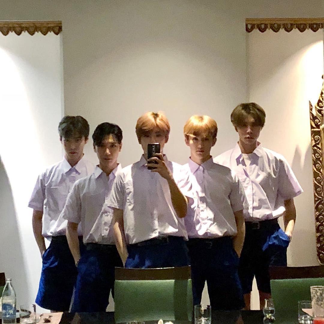 ️A Cup of Coffee Part. 2  NCT  Thailand ชุดนักเรียน
