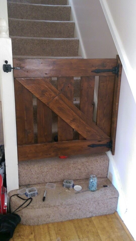 diy barn door baby gate remodelaholic diy pinterest