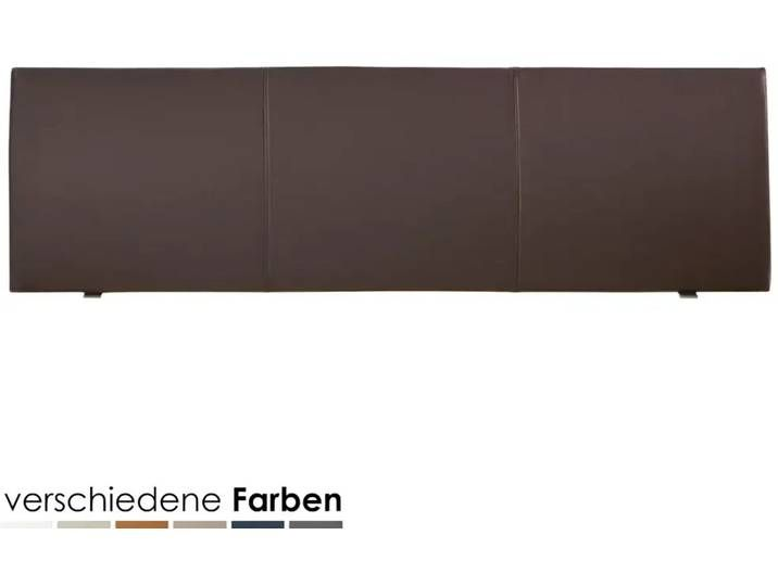 Photo of Hasena Dream-Line Kopfteil Ripo 180 cm / PK2 Kunstleder 310 petrol