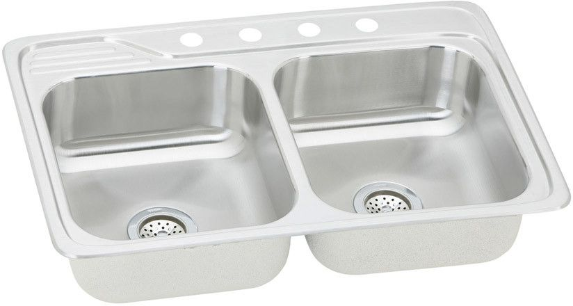Elkay Celebrity Collection Drop In Sink Polished Finish Ecc3322mr2