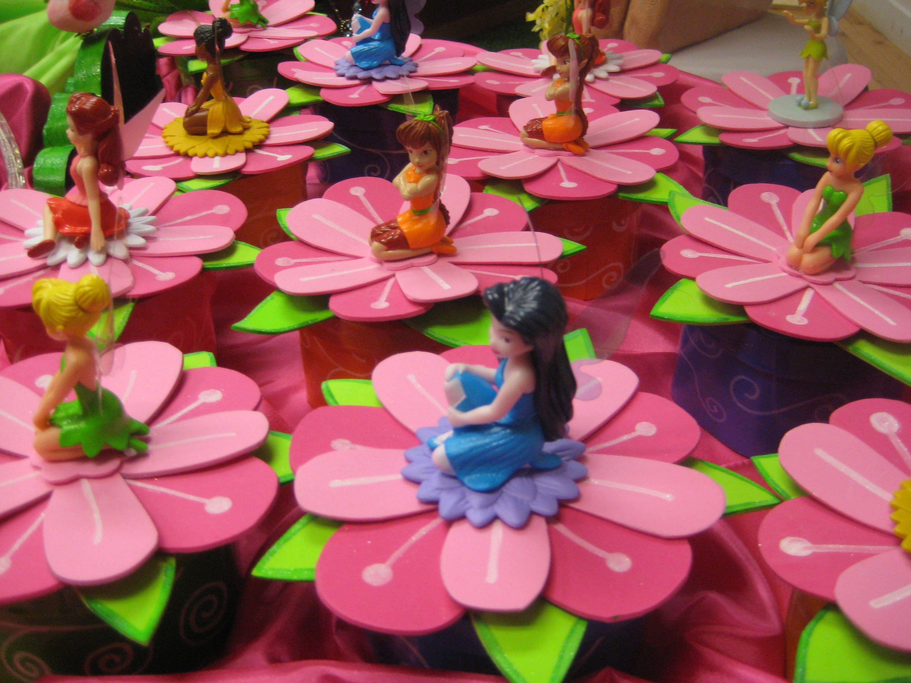 Tinkerbell Theme Party Ideas