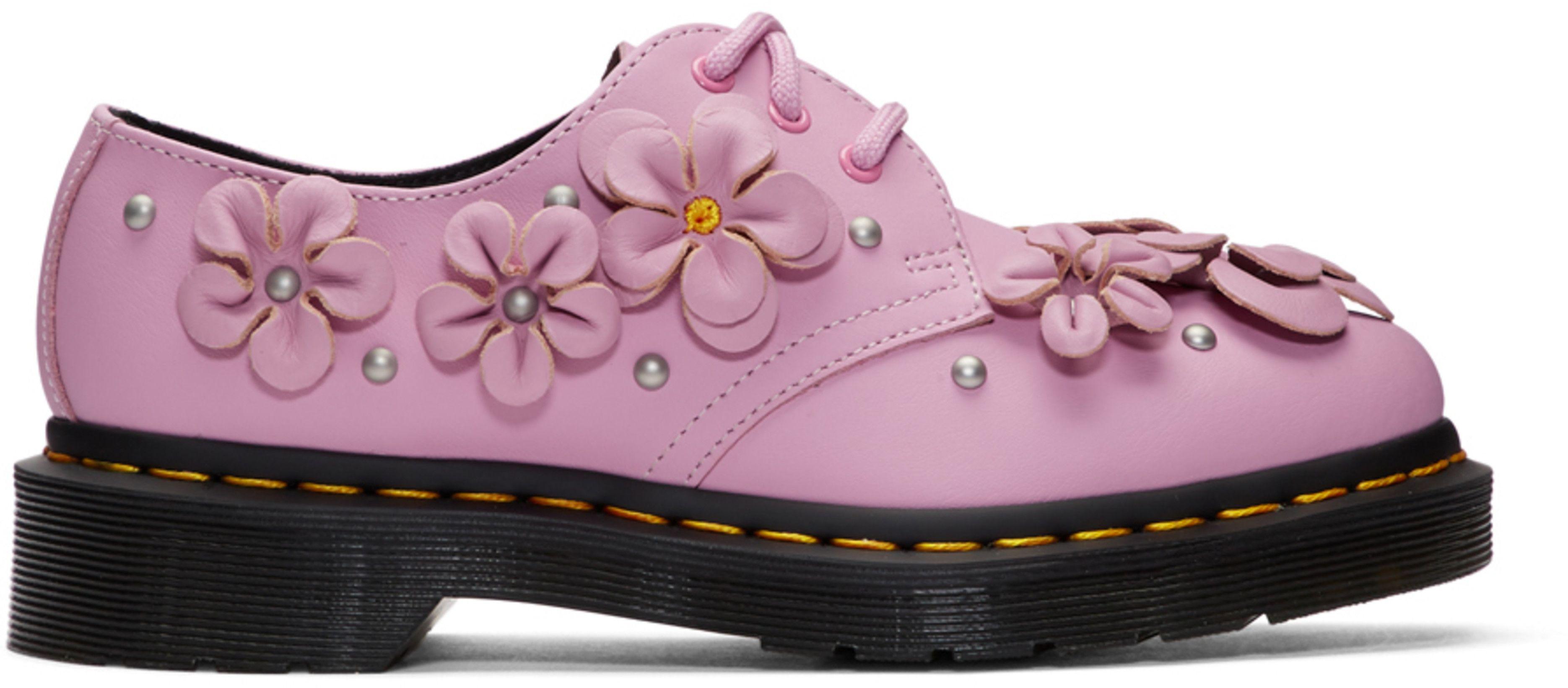 Pink 1461 Flower Derbys