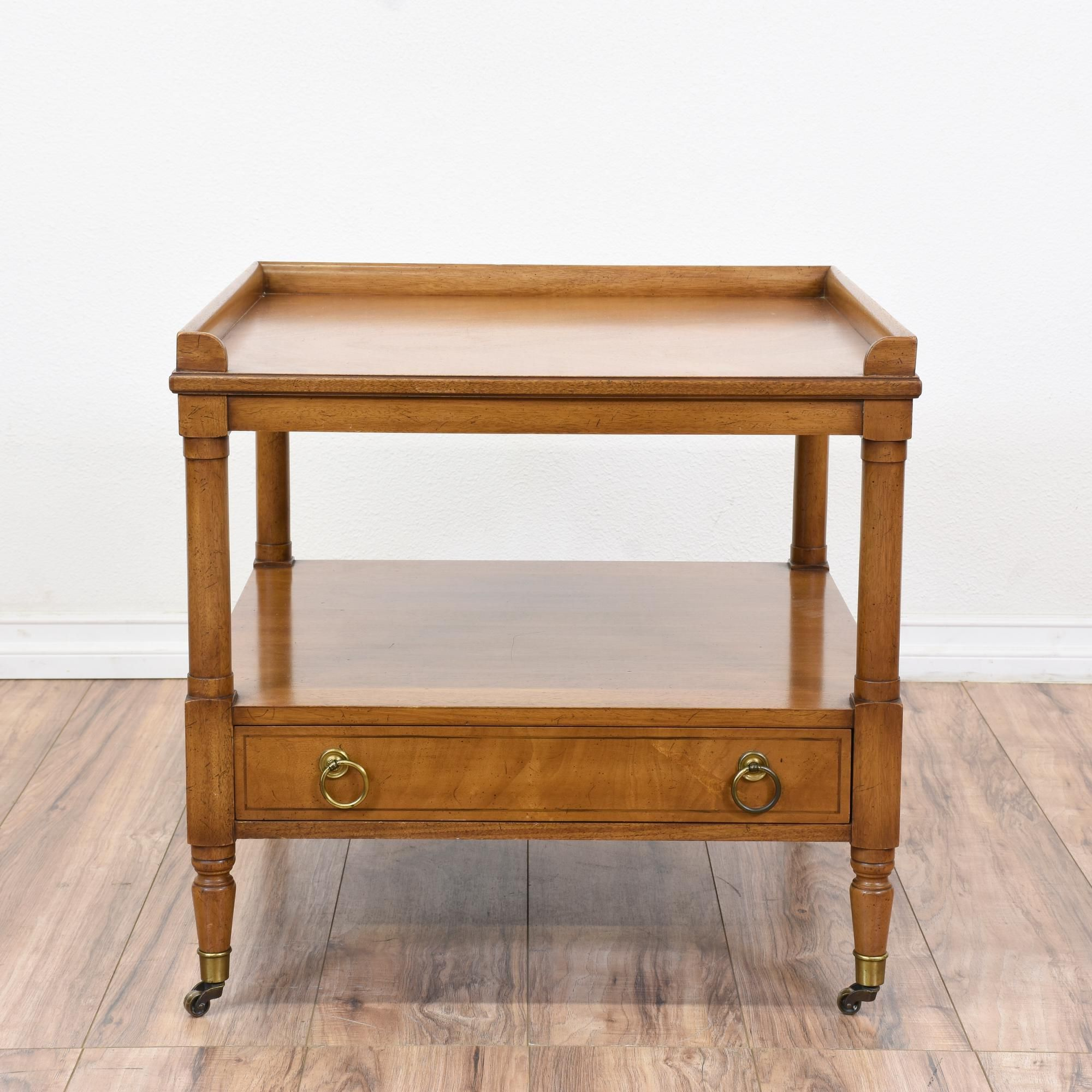this john a colby sons end table is