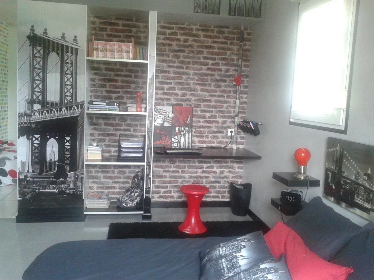 20 Deco Chambre New York Ado Garcon in 20  Deco, Home, House design