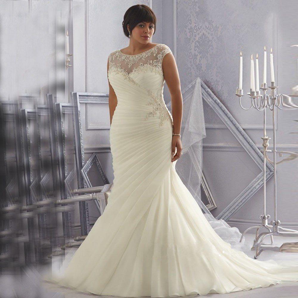 Plus size wedding dress olivia