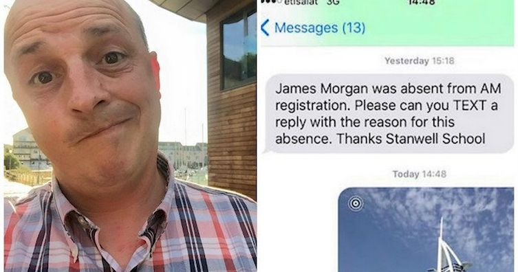 Father Explains His Son's Absence From School In The Most Epic Way Ever