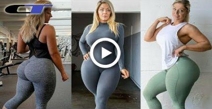GLORIOUS DANISH FITNESS MODEL WORKOUT (Mia Sand) #fitness