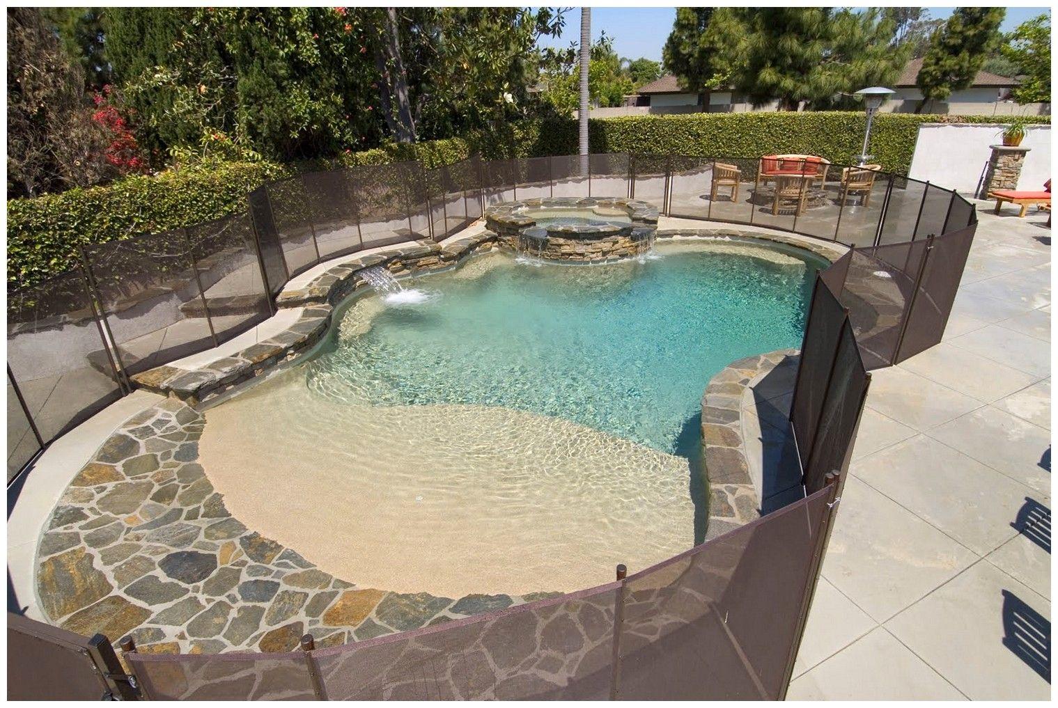 20 Unique Stock Of Zero Entry Fiberglass Pool 20962 Pool