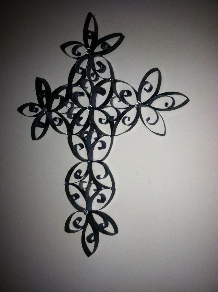 Great Craft Ideas. Toilet Paper RollsCrossesCrafts. Wall Art ...