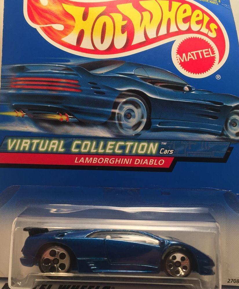 Lamborghini Diablo Hot Wheels Virtual Collection Mattel Die Cast