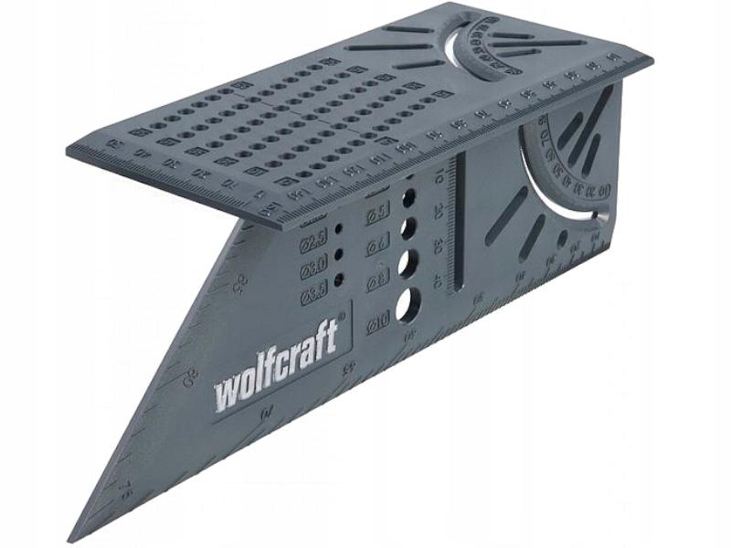 Kup Teraz Na Allegro Pl Za 32 Zl Wolfcraft Katownik Stolarski Japonski 3d 5208000 7643262083 Measuring Tools Woodworking Angle Measuring Tool Angle Square