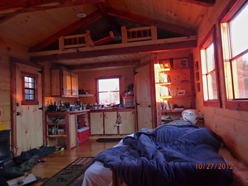 Trophy Amish Cabins Llc 12 X 24 Cottage 384 S F