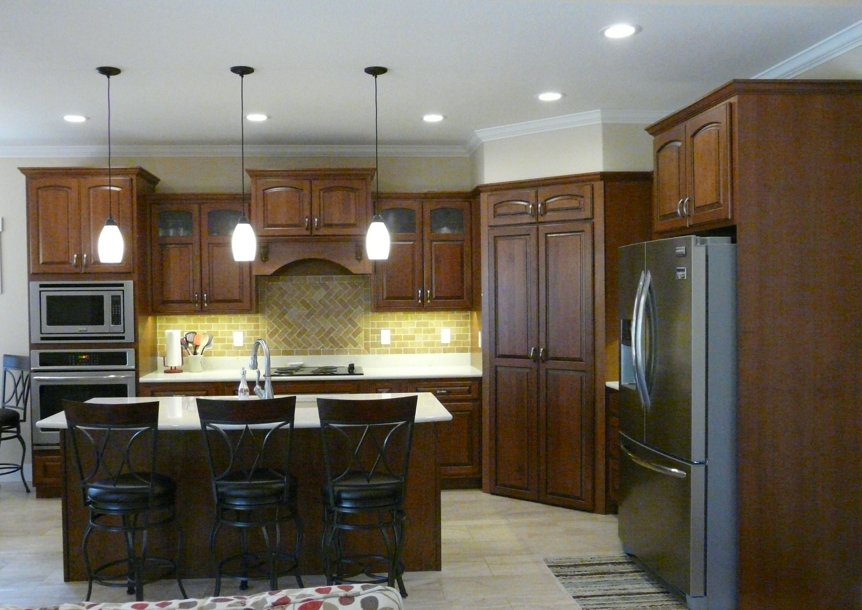 Kitchen Design Large Pantry Cabinet Stacked Cabinets With Glass Doors Home Decor Glass Cabinet Doors Interior Design