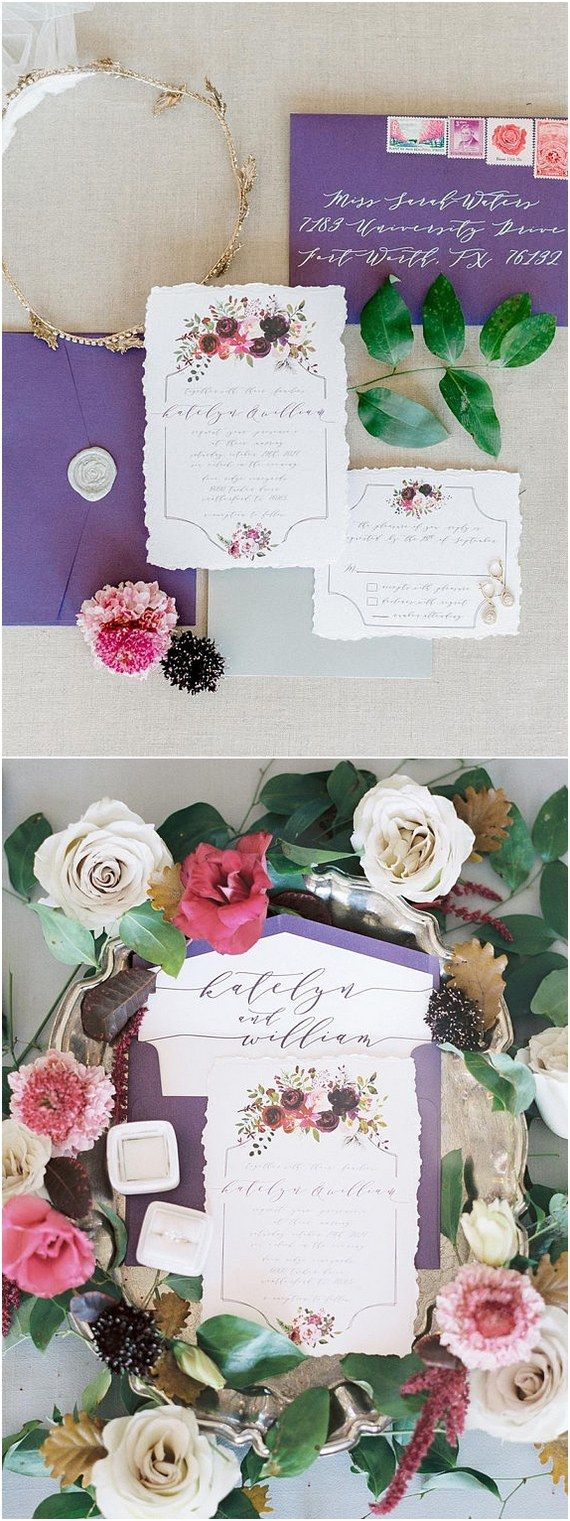 Top 10 Wedding Invitations from Etsy for 2018 | Weddings, Wedding ...