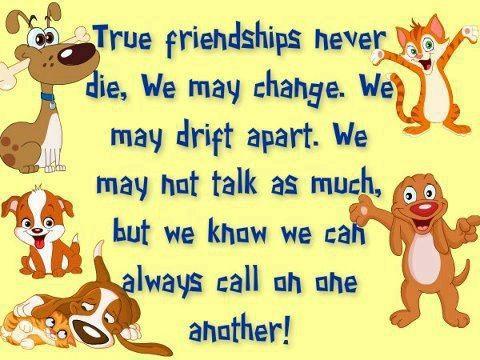 True Friendships Never Die | Friendship | True friendship