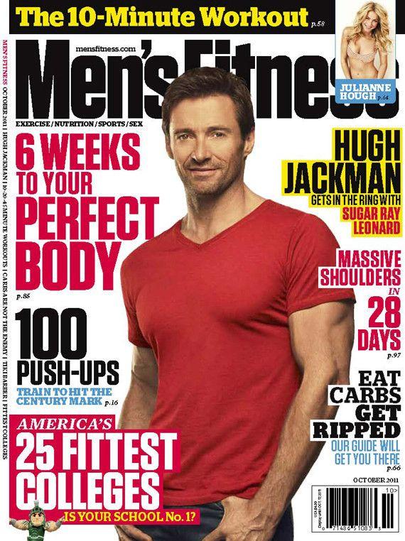 Hugh Jackman Reveals His Body Training Struggles Pop Workouts Mens Fitness Magazine Hugh Jackman