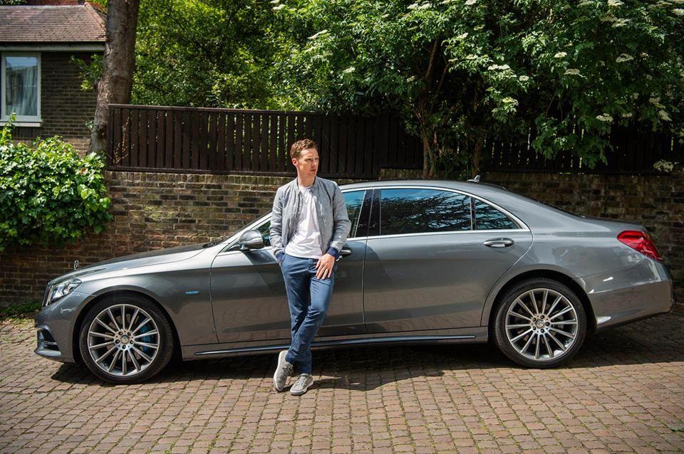 Benedict Cumberbatch for London Fashion Week Men's.