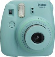 On sale for $49! Fujifilm - instax mini 8 Instant Film Camera - Teal - Front Zoom
