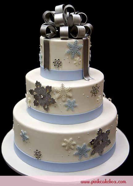 Inspired By Our Winter Wonderland Wedding Cake This 3 Tier Was Created For A Corporate Event In The Upper East Side New York City We Also Incorpo