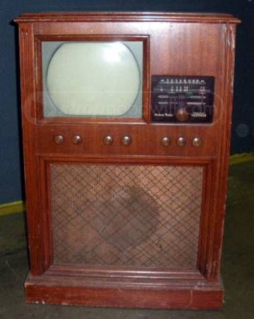 1940 S Andrea Tv Radio Console Vintage Electronics In