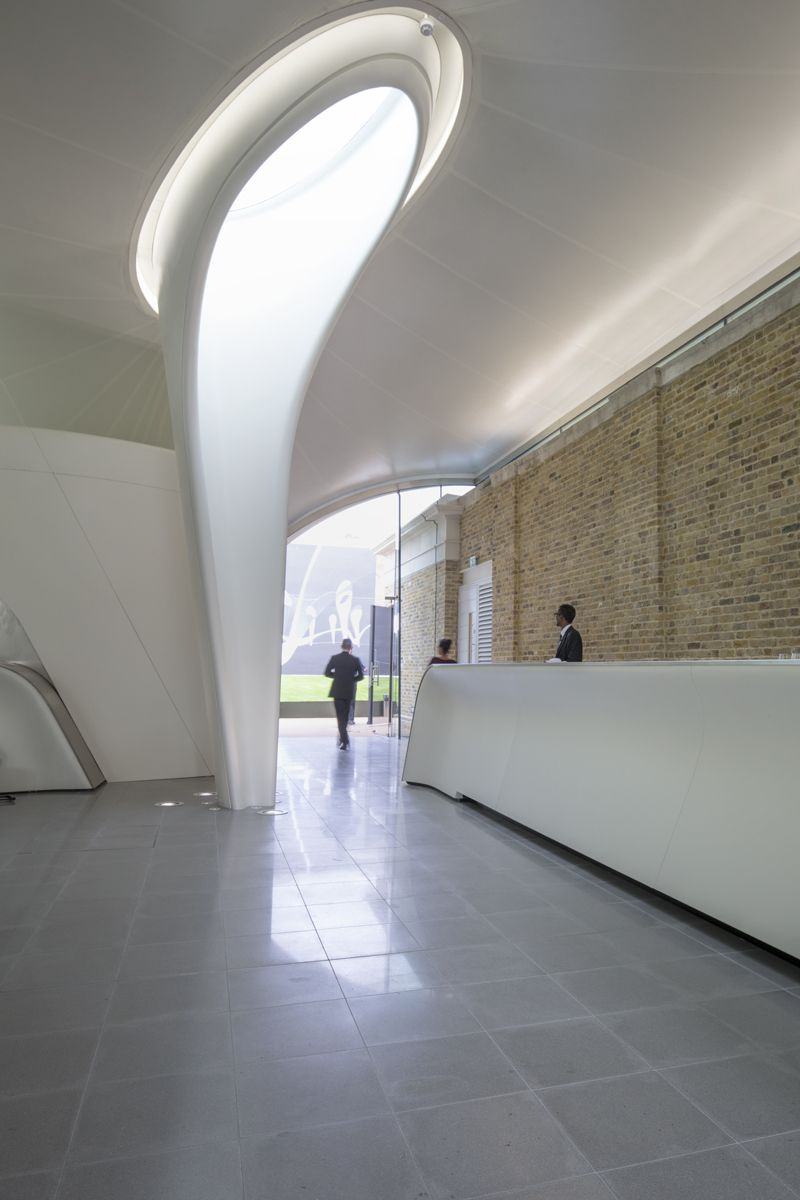 gallery of serpentine sackler gallery zaha hadid photos. Black Bedroom Furniture Sets. Home Design Ideas