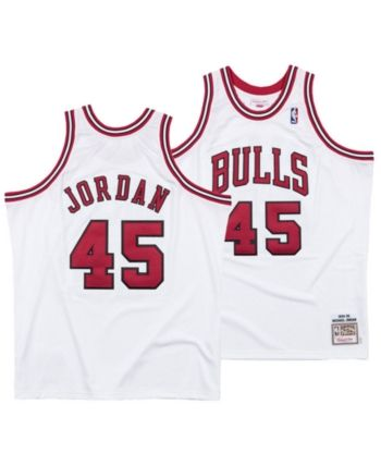 promo code c68f9 38211 Mitchell & Ness Men's Michael Jordan Chicago Bulls Authentic ...