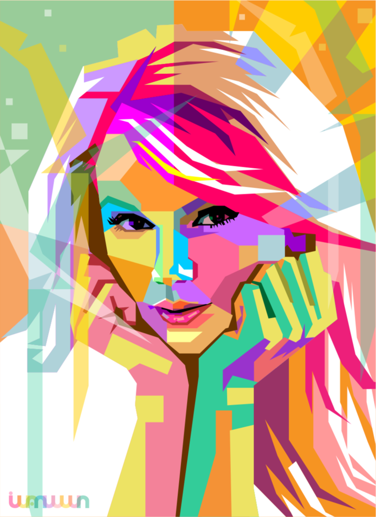 Taylor Swift In Wpap By Iwanuwun On Deviantart Taylor 3
