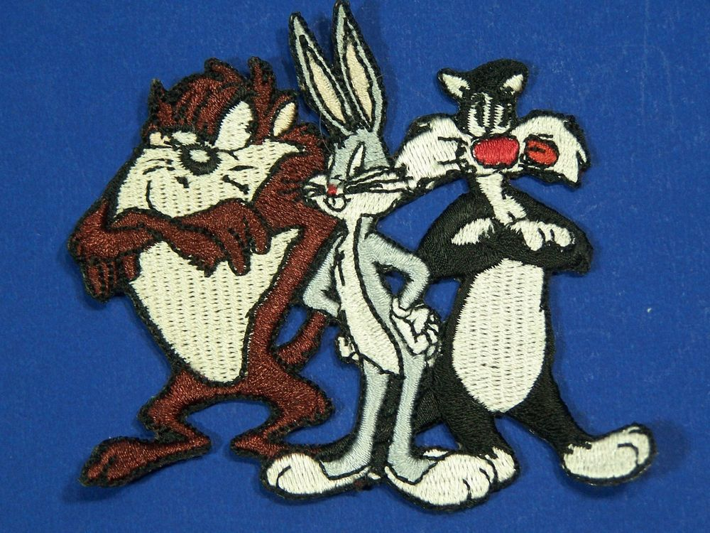 Looney Tunes Patches Iron on Appliques