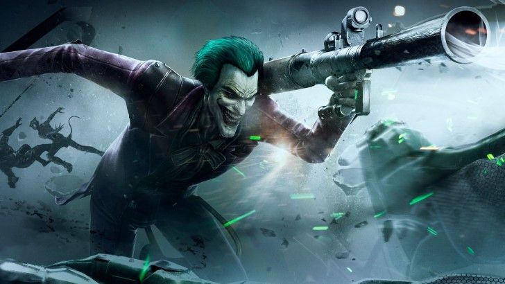 Joker Wallpaper Injustice Gods Among Us Game 1920x1080 Dzhoker Komiksy Vselennaya