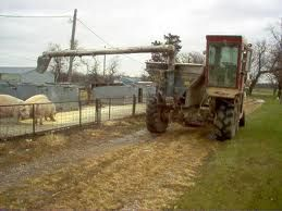 combine feed cart