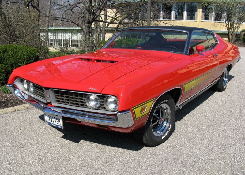 1971 Ford Torino Gt Sportsroof For Sale Affordable Classics