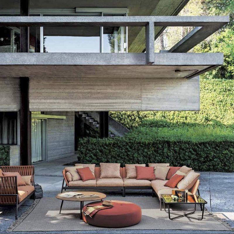 Roda Piper Loungesessel 101 Gurtgeflecht 119 Cm Villa Schmidt Hamburg Lounge Sessel Lounge Tisch Gartenmobel