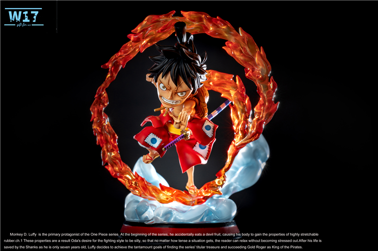 LAND OF WANO 001 Monkey D.Luffy ONE PIECE W17